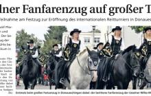 Fanfarenzug in Donaueschingen | Quelle: WLZ vom 17.09.2013