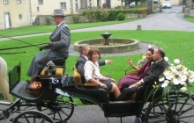 Hochzeitskutschfahrt