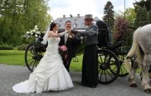 Landauer als Hochzeitskutsche